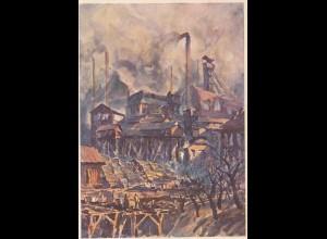 Bergbau: AK DAF, Witkowitzer Eisenwerk und Gruben 1942, Mährisch Ostrau DDP