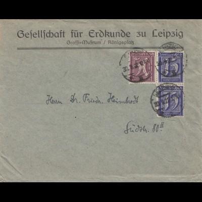 Bergbau: Gesellschaft für Erdkunde zu Leipzig, 1922, Graffi Museum