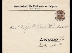 Bergbau: Gesellschaft für Erdkunde zu Leipzig, 191, Graffi Museum