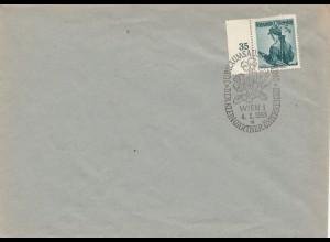 Sonderstempel: Der Kleingärtner, Jubiläumsausstellung 1953, Wien/Österreich