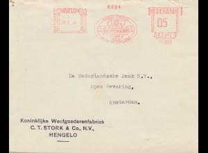 Hengelo Nederland nach Amsterdam DUTCHART 1939,Holland, Tulpen