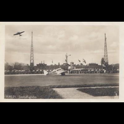 AK Berlin Zentralflughafen 1932