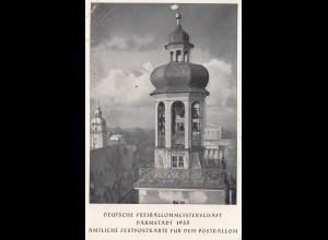 Deutsche Ballonpost Meisterschaft Darmstadt 1935