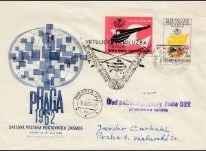 Prag Hubschrauber Post 1962