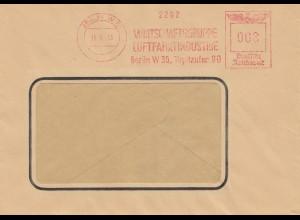 Brief Wirtschaftsgruppe Luftfahrtindustrie Berlin 1943