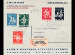 Nederland - Amsterdam - Europäischer Zionisten Kongress 1959