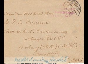 POW - Kgf: Belgien 1948 Legerplaats nach Indien - Zensur