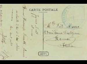 POW - Kgf: 1925: Algerien nach Italien