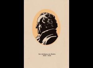 Ansichtskarte Wolfgang von Goethe - Druck Brasilien