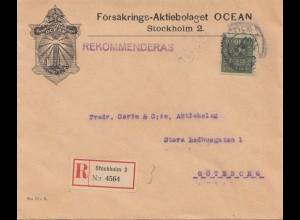Försäkrings Aktiebolaget Stockholm Ocean to Göteborg - Leuchtturm - Vignetten