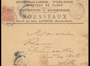Quincaillerie Poelerie - Fabrique de Clus-Rousseax nach Lille 1901 -Möbel-France