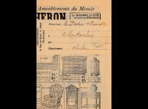 Möbelzeitung Streifband - Au Bucheron-Paris -Kompletter Möbelprospekt
