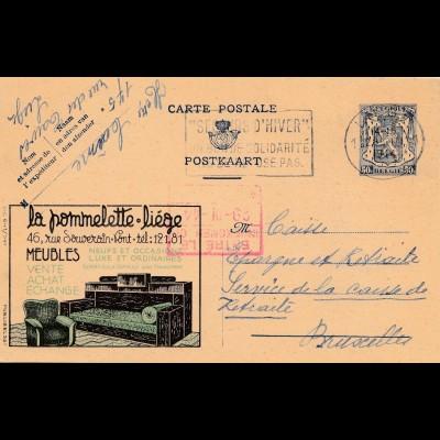 Belgien: la pommelette liege - Meubles-Hiver-1944
