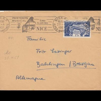 Printimps Musical Nice 1951 nach Balingen