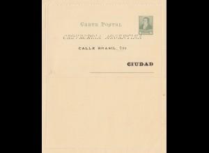 Carta Postal - Faltbrief-Argentinien-Cerveceria Quilmes 189x
