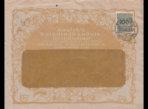 Rausch WeingroßhandelsGes. Dresden 1923