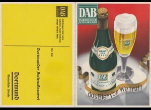 Ansichtskarte Dortmunder Aktien Brauerei mit Bestellkarte