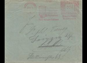 Braunschweig Frisch-Spargel-Qualität-Konserven 1933-Freistempel