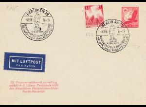 Olympia 1936: Berlin: Postwertzeichen anlässlich Olympischer Spiele