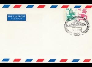 Olympische Spiele 1976 Montreal Ganzsache-Stempel Leverkusen Philatelie