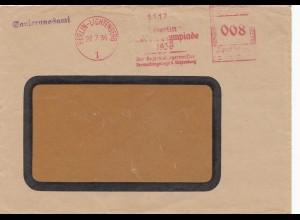 Sanierungsamt Olympiade 1936 Berlin-Lichtenberg Bürgermeister