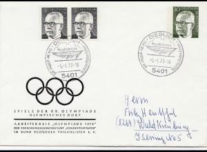 Olympiade München 1972: Olympisches Dorf - Dieblich -Moseltalbrücke 1973