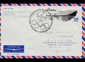 Polen: Olympia First Flight: Warszawa-Munich 1972