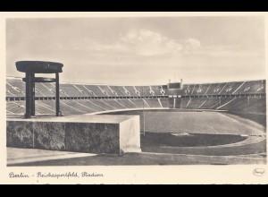 Olympiade Berlin 1936: Reichssportfeld Berlin - Ansichtskarte Stadion