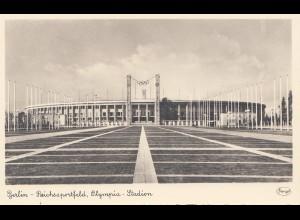Olympiade Berlin 1936: Ansichtskarte Reichssportfeld Olympia Stadion