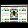 Nicaragua: Juegos Olimpicos XXI Montreal Canada: Baron de Coubertin