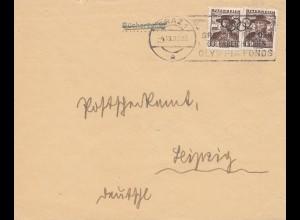 Olympia: Werbestempel: Spendet für den österreichischen Olympia Fonds 1935 -Graz
