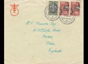 Nederland: 1937: Wereld Janboree nach England
