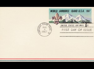 USA: World Janboree Idaho 1967 - FDC