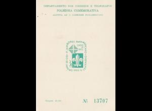 Brasilien: 1965: Jamboree Panamericano - Gedenkkarte