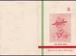 Pakistan: Lord Baden Powell-Boy Scout Jamboree 1958 - Gedenkheft