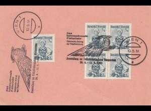 Österreich: Ganzsache: 1951: Ausstellung Internat. Polarjahr Wien