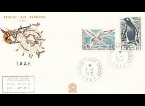 Frankreich 1976: 3x T.A.A.F Alfred Faure Crozet