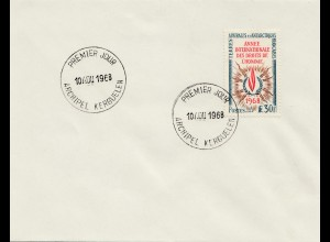 Frankreich 1968: Archipel Kerguelen FDC