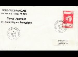 Frankreich 1973: Terres Australes et Antarctiques Francaises- Archipel Kerguelen