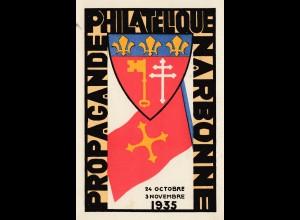Frankreich: Philatelique Narbonne-Languedoc 1936