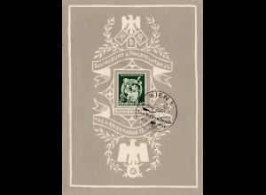 Tag der Briefmarke - Wien 1941 - Gedenkblatt