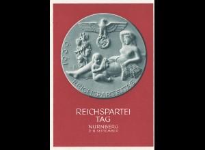 Ansichtskarte - Ganzsache-Festpostkarte Reichsparteitag 1939