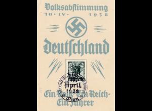 Volksabstimmung Deutschland 1938