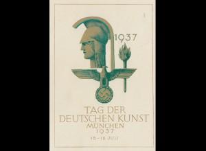 Propaganda: Tag der deutschen Kunst 1937 - Sonderstempel München
