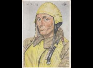 Willrich Karte: Unsere Luftwaffe 1944 Jagdstaffel