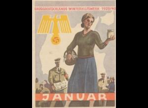 WHW 1939/40 Januar