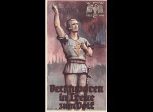 WHW 1936: Werschworen in Treue zum Volk