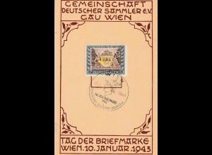Tag der Briefmarke 1943: Wien