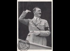 Propagandakarte: Anschluss Österreich 1938
