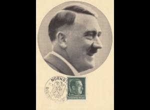 Propagandakarte: 1938: Reichsparteitag